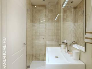 АКАДЕМИЯ ПАРК, 155, СОВРЕМЕННАЯ КЛАССИКА: Ванные комнаты в . Автор – Loft&Home