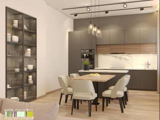 Minimalist kitchen by Мастерская интерьера Юлии Шевелевой Minimalist