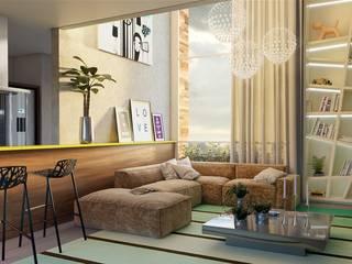 Estar: Salas de estar  por studio arq fiedler