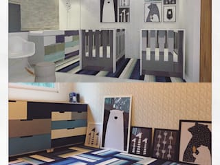 Modern Kid's Room by DECO Designers Modern