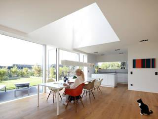Falke Architekten Ruang Makan Minimalis