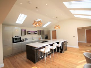 Great Bardfield, Essex Cocinas modernas de Kitchencraft Moderno