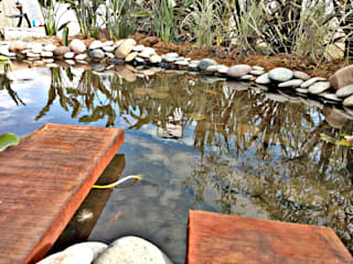 Rustikaler Garten von Estudio Raices Rustikal