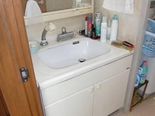洗面・風呂リモデル: 有限会社 起廣プランが手掛けたです。