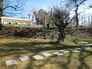 Percurso pelo jardim: Jardins campestres por APROplan