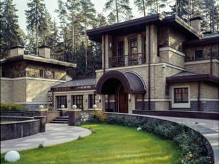 Casas de estilo ecléctico de ООО 'Арт-керамика Владимира Ковалева' Ecléctico