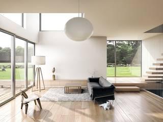 Ristrutturazione appartamento: Soggiorno in stile in stile Moderno di Ristrutturazione Casa Roma