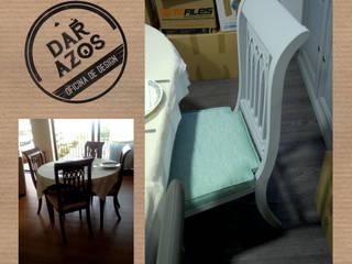 Transformação de Mobiliário - Decoração de Interiores:   por Dar Azos - Oficina de Design