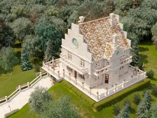 Дом в Викторианском стиле: Дома в . Автор – Геометрия Вкуса