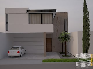 Houses by HHRG ARQUITECTOS, Modern