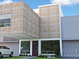 Casas estilo moderno: ideas, arquitectura e imágenes de Perspectiva Arquitectos México Moderno
