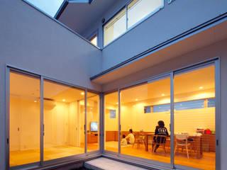 一級建築士事務所アトリエm Modern style gardens