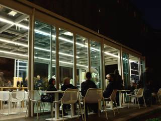 Calicantus Caffetteria Castello Sforzesco Bar & Club in stile minimalista di ARCò Architettura & Cooperazione Minimalista