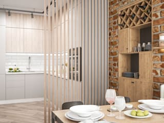 Kitchen by Tatiana Zaitseva Design Studio, Industrial