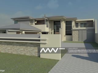House Sediane Perspective View:   by MNDSA Environmental