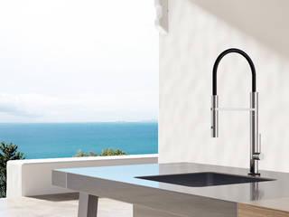 Neue Gartenküchen-Armatur MK35 FONTEALTA: modern  von Fontealta,Modern