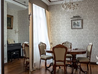Classic style dining room by Flatsdesign Classic