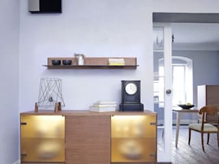 Una mansión antigua - Comedor Colección Dream color ámbar Salones de estilo escandinavo de Ikonik Home Escandinavo