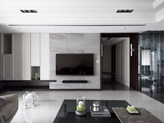Salas modernas de 思為設計 SW Design Moderno