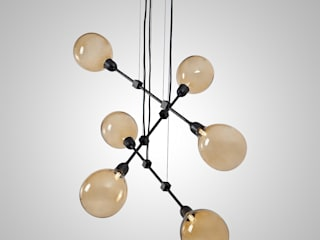 BLOWN pendant ( with three modules).:   por PURA MESTRIA