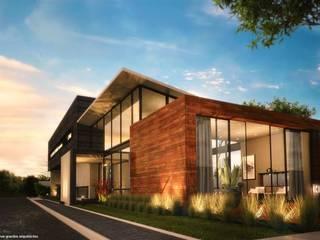 Modern home by Diez y Nueve Grados Arquitectos Modern
