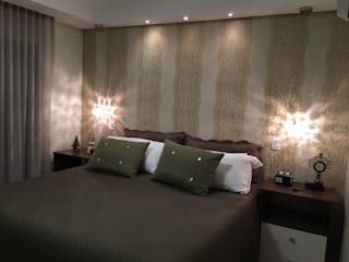 Dormitorios de estilo moderno de Camila Danubia Arquitetura Moderno