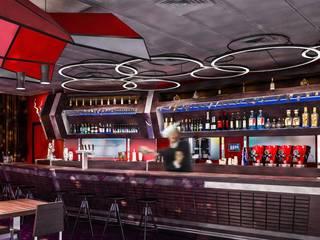 Castelletti Bar & Club moderni di Denis Confalonieri - Interiors & Architecture Moderno