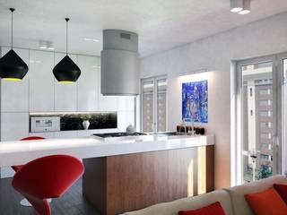 Wagner Sala da pranzo moderna di Denis Confalonieri - Interiors & Architecture Moderno