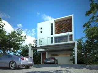 Casas de estilo  por sanmartiarquitectos