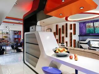 Phell Residence: Cucina in stile in stile Moderno di Denis Confalonieri - Interiors & Architecture