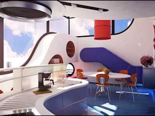 Ferrari Cucina moderna di Denis Confalonieri - Interiors & Architecture Moderno