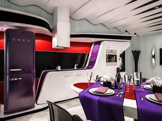 Rovida Cucina moderna di Denis Confalonieri - Interiors & Architecture Moderno