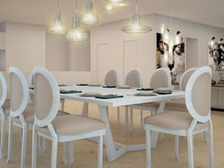 Dining room by CONTRASTE INTERIOR, Classic