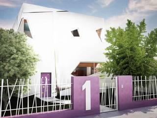 Soft Cube Case moderne di Denis Confalonieri - Interiors & Architecture Moderno