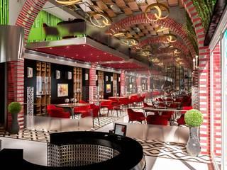 Astrobat Bar & Club moderni di Denis Confalonieri - Interiors & Architecture Moderno