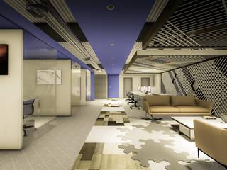Escritórios minimalistas por Arquitectura AG Minimalista