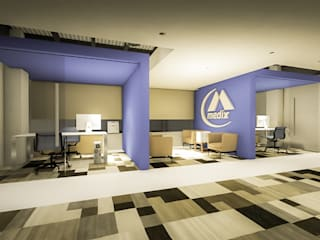 Arquitectura AG Oficinas de estilo minimalista