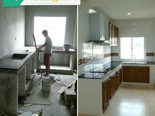 งานต่อเติมครัวที่โครงการ Sukumvit Lite:   by F.I.S. Supplies