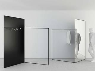 t design Dressing roomMirrors Metal Black