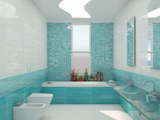 Rivestimento ceramico serie Studio by Paul&Co. Ceramiche:  in stile  di MK Designer Studio | Project & 3D ArchViz
