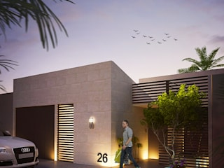 VIVIENDA: Casas de estilo moderno por Elementum Arquitectos SAS