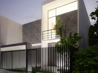 VIVIENDA Casas modernas de Elementum Arquitectos SAS Moderno