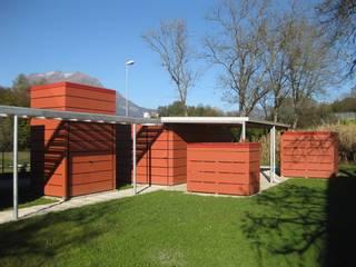 Garajes modernos de Blulinea Moderno