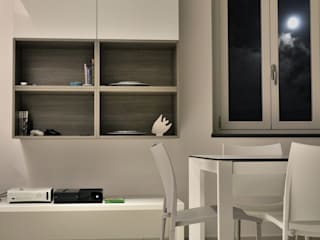 Cappelletti Architetti Modern dining room Ceramic