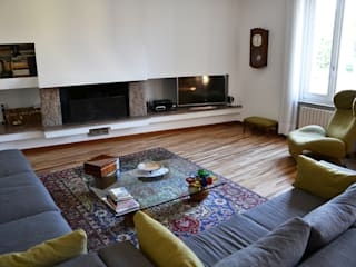 Cappelletti Architetti Living room Wood