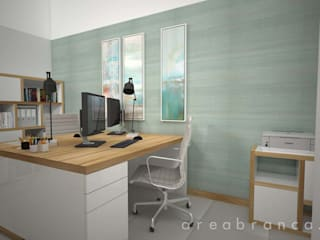 Modern Study Room and Home Office by Areabranca Modern