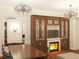 Salas de estar clássicas por Дизайн Студия 33 Clássico