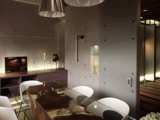 Minimalst style study/office by 鼎爵室內裝修設計工程有限公司 Minimalist