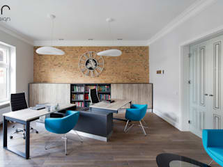 Modern study/office by ER DESIGN Modern