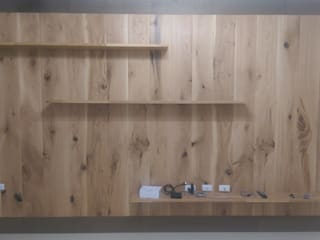 ModernTree flooring co.,Ltd Walls & flooringWall & floor coverings Kayu Buatan White